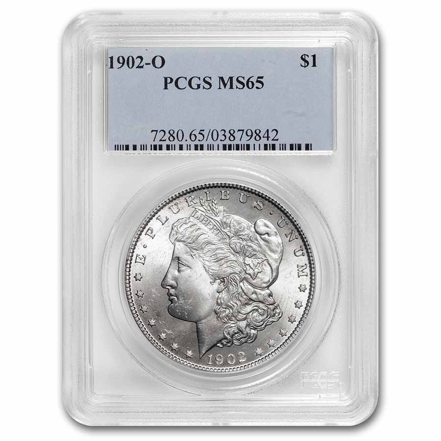 1902-O Morgan Dollar MS-65 PCGS