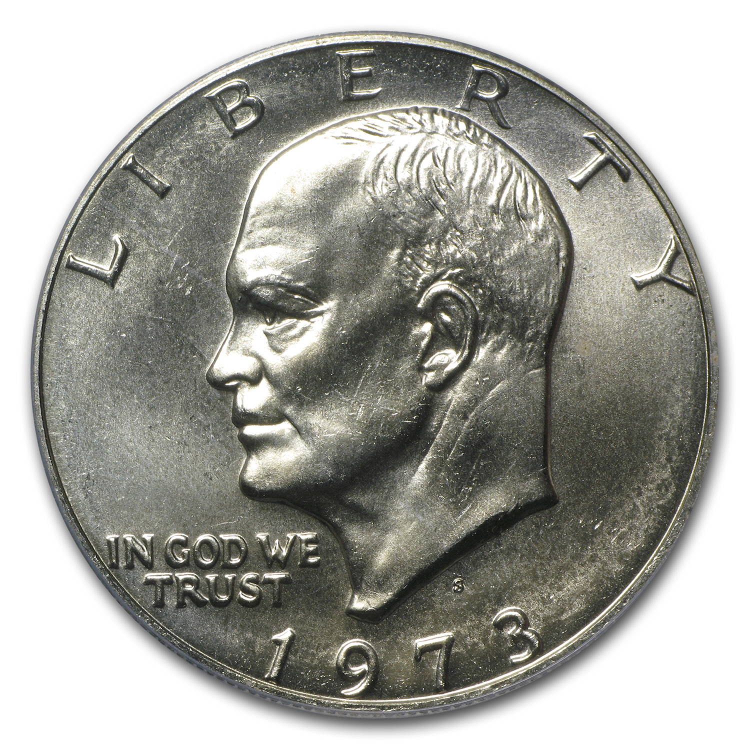 1973-S Silver Eisenhower Dollar MS-66 PCGS