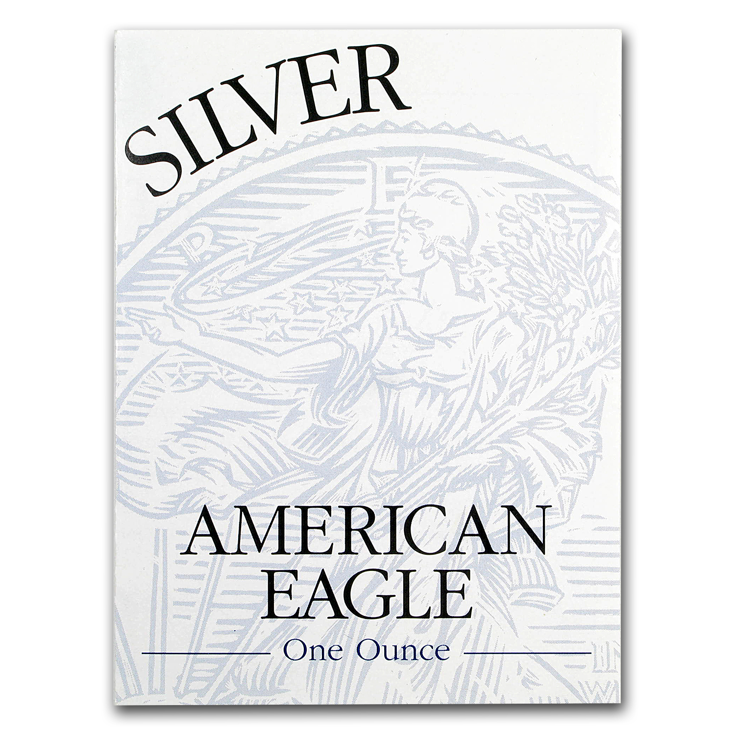 OGP - 1996 Silver American Eagle Proof (Empty Box & COA)