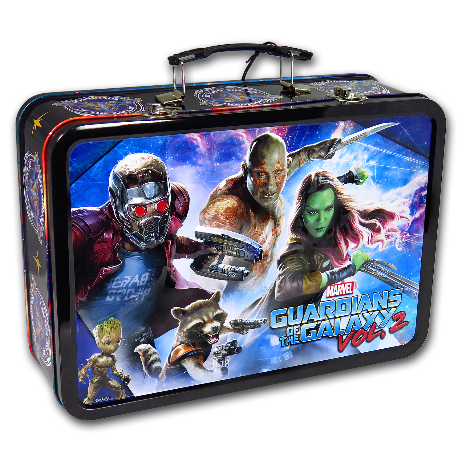 2017 Silver 5-Coin Set Guardians of the Galaxy Vol. 2 (UHR)