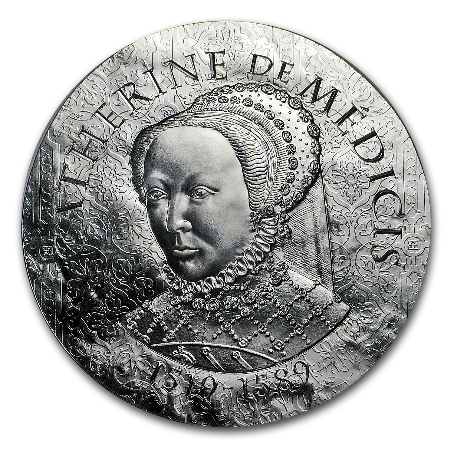 2017 Proof Silver €10 Women of France (Catherine de Medici)