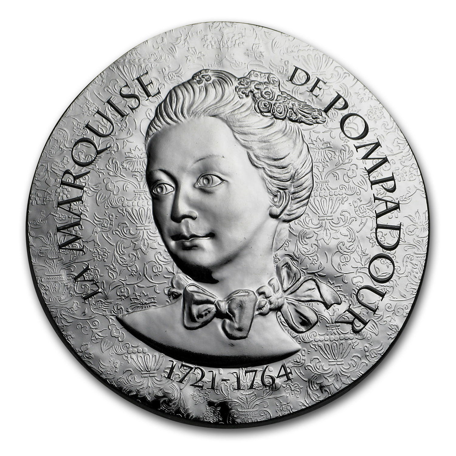 2017 Proof Silver €10 Women of France (La Marquise de Pompadour)