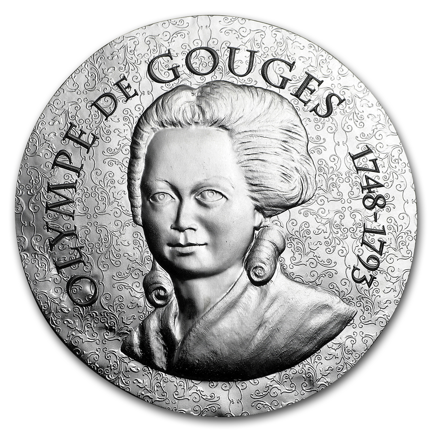 2017 Proof Silver €10 Women of France (Olympe de Gouges)