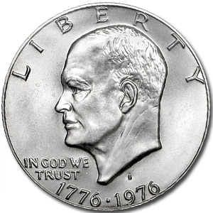 1976-S Eisenhower Silver Dollar MS-67 - PCGS