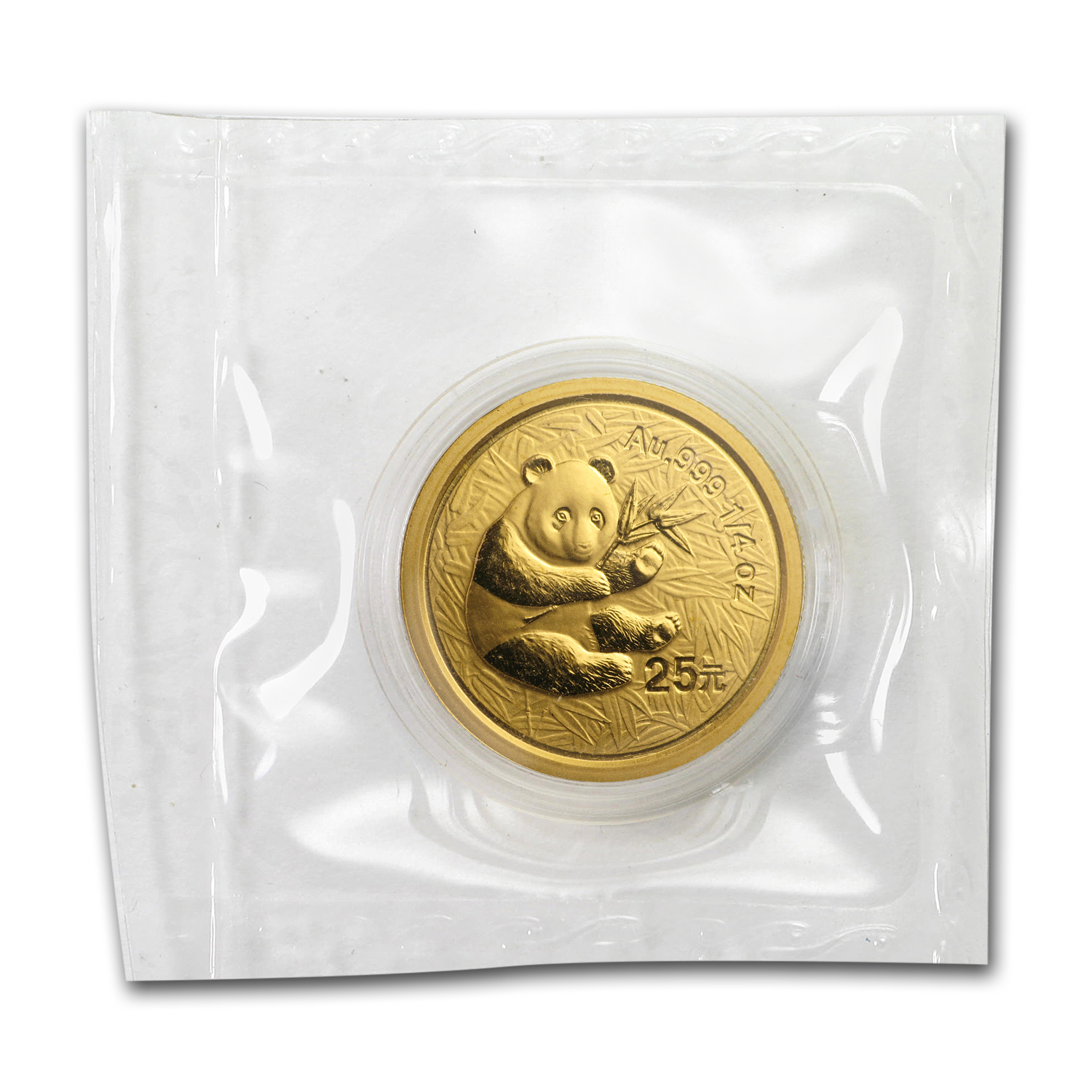 2000 (1/4 oz) Gold Chinese Pandas - (Sealed)