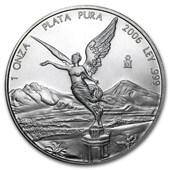 2006 Mexico 1 oz Silver Libertad BU