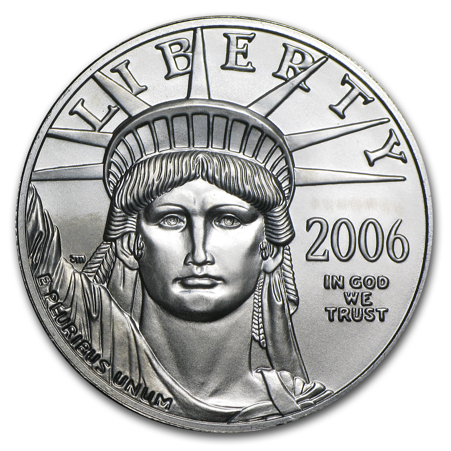 2006 1 oz Platinum American Eagle BU