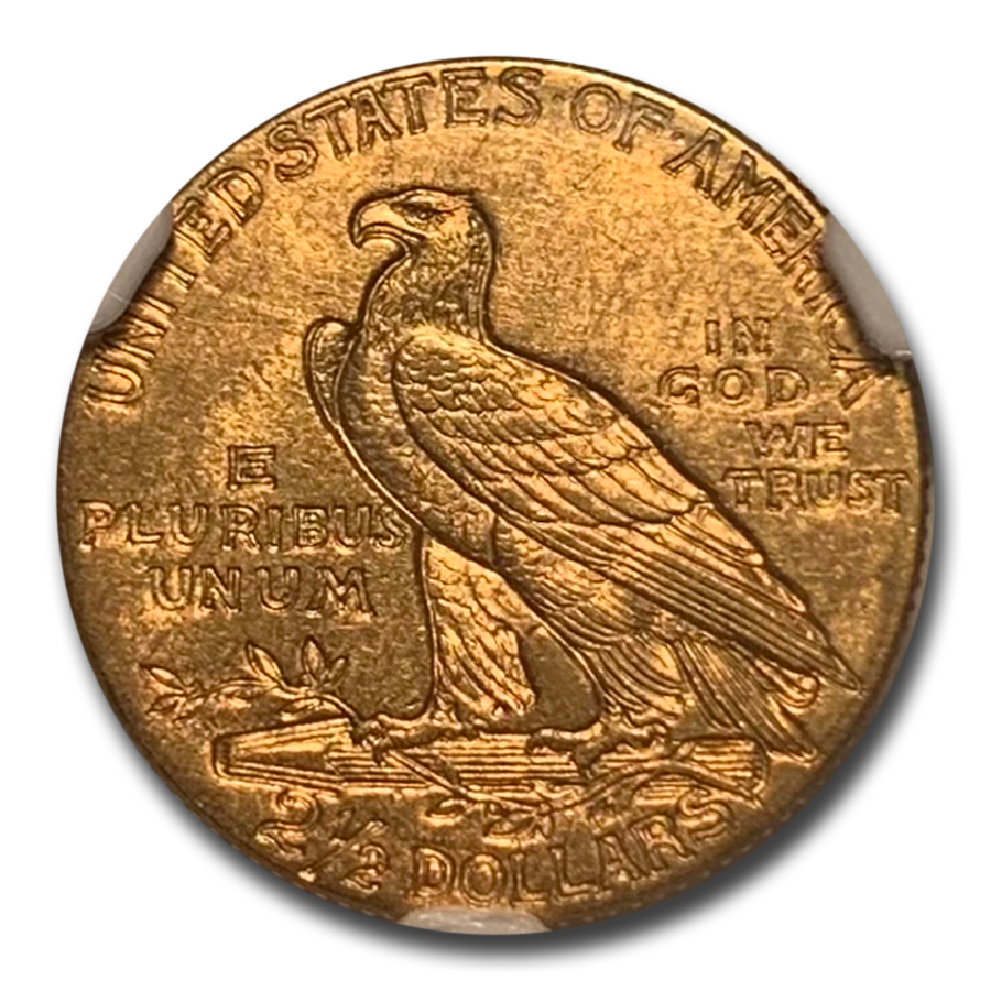 1914 $2.50 Indian Gold Quarter Eagle MS-62 NGC