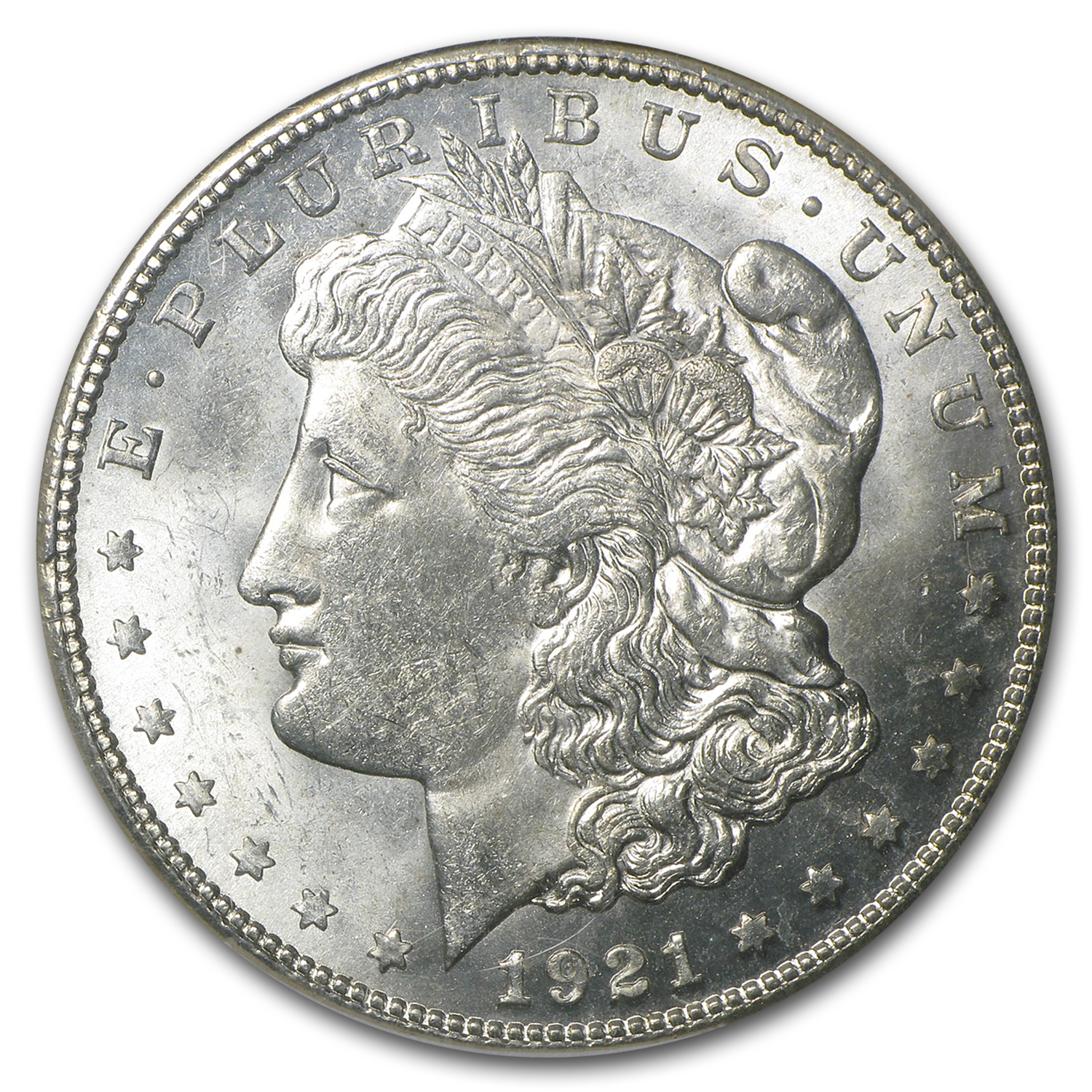 1921-S Morgan Dollar MS-63 NGC