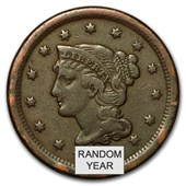 1808-1857 Large Cents (Culls)