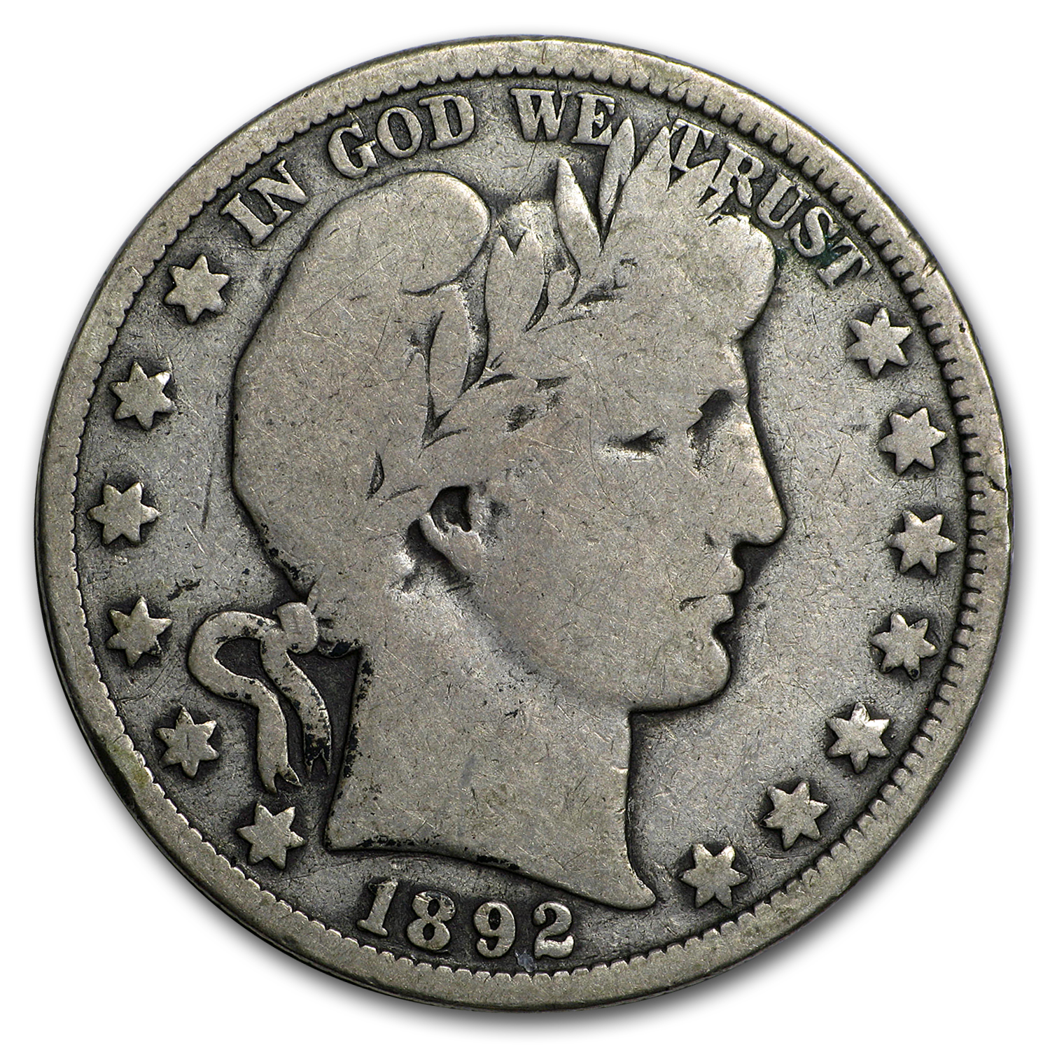 1892-O Barber Half Dollar Good