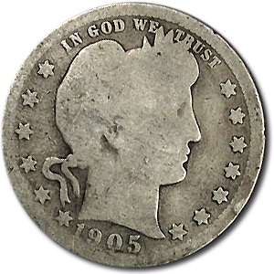 1905 Barber Quarter AG