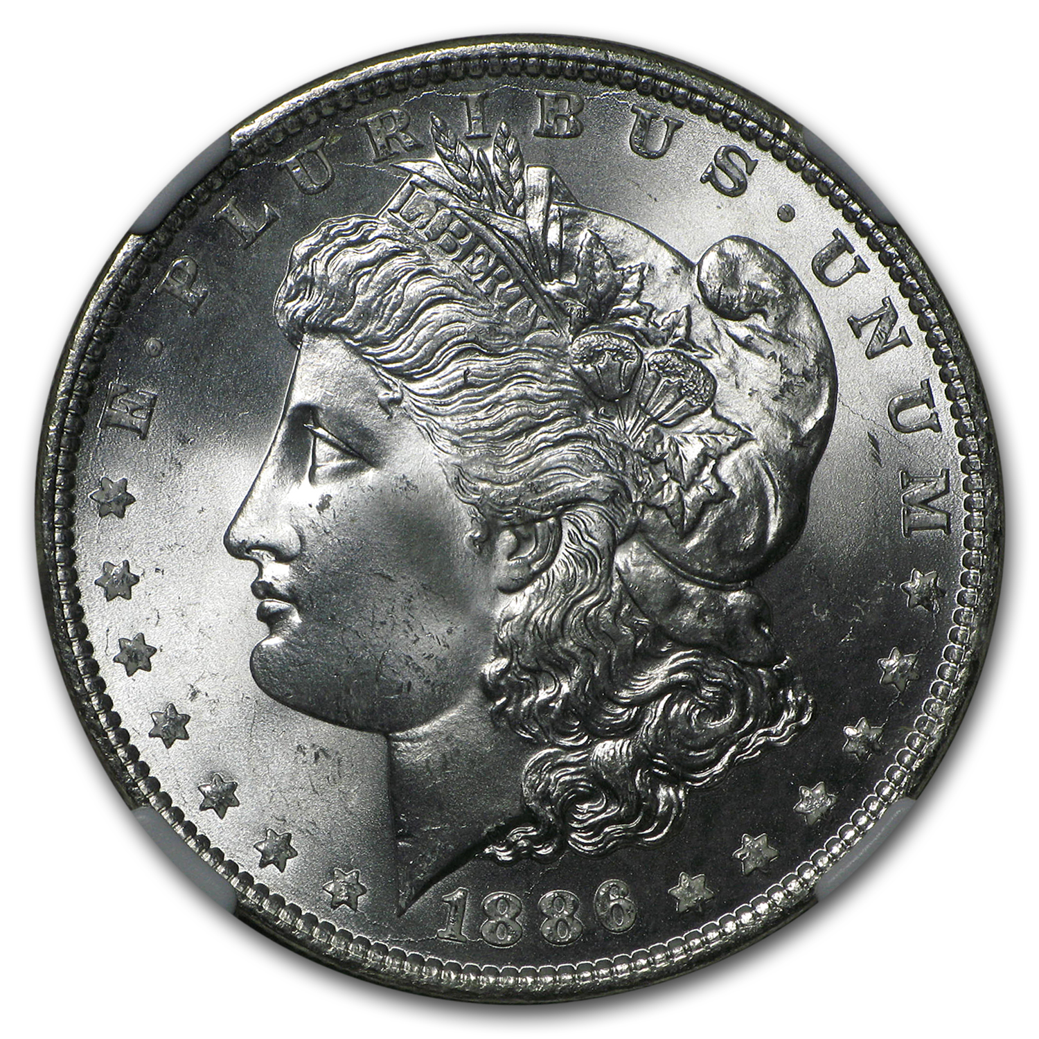 1886 Morgan Dollar - MS-65 NGC