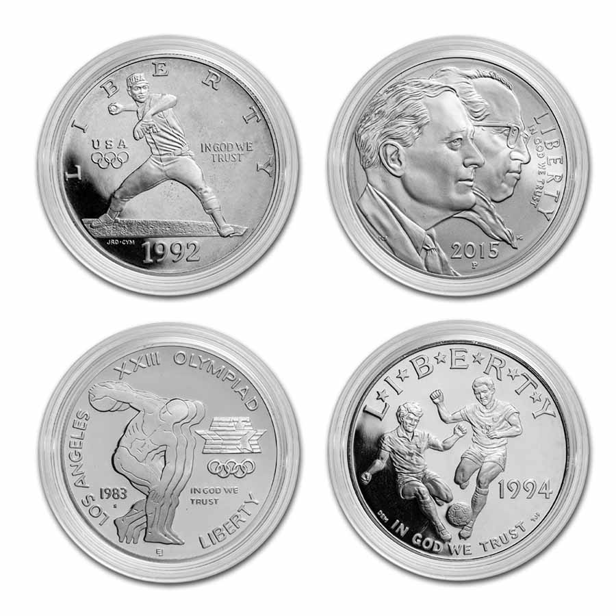 U.S. Mint $1 Silver Commemorative ASW .7734