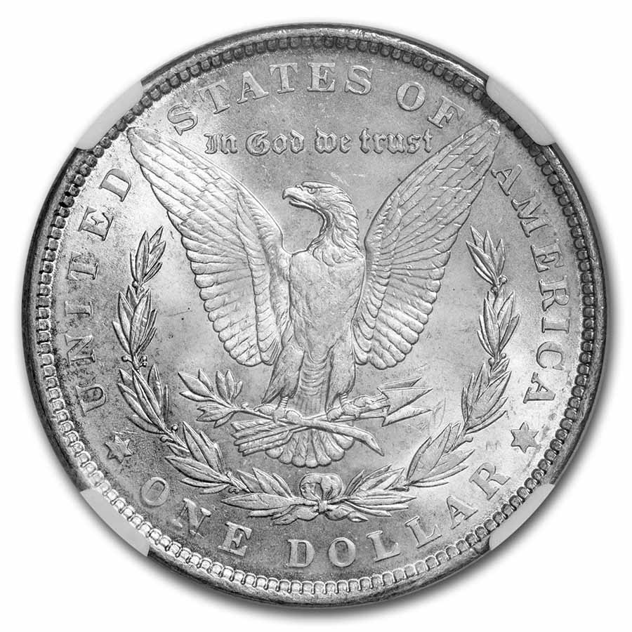 1890 Morgan Dollar MS-64 NGC