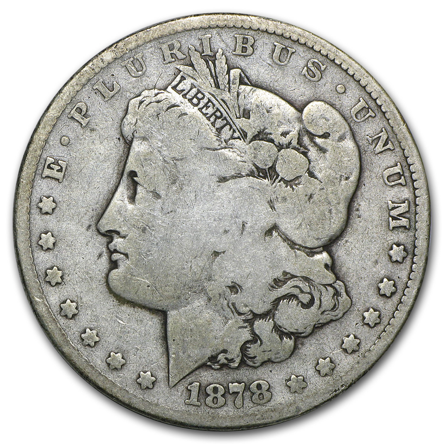 1878-CC Morgan Dollar Good