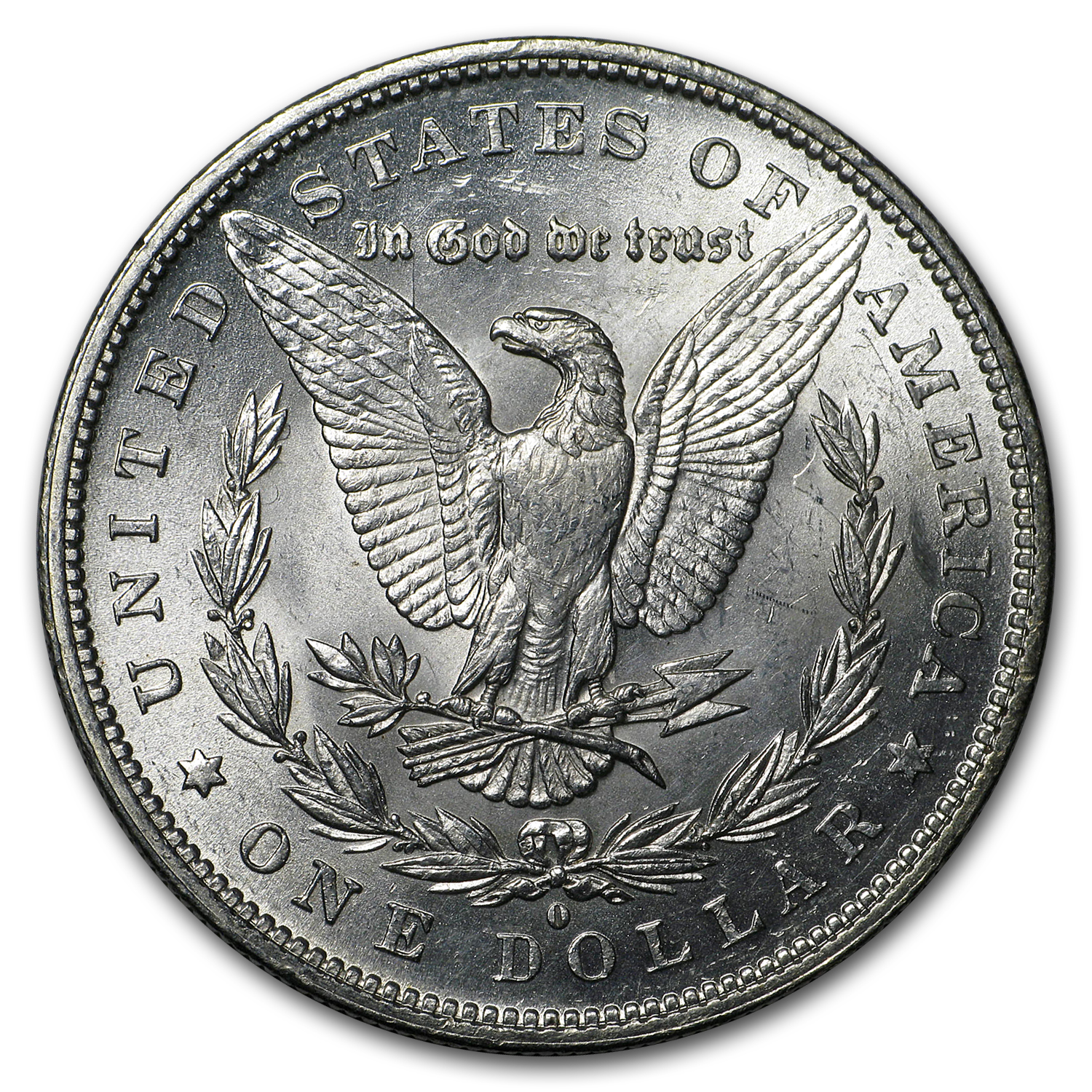 1879-O Morgan Dollar - Almost Uncirculated-58