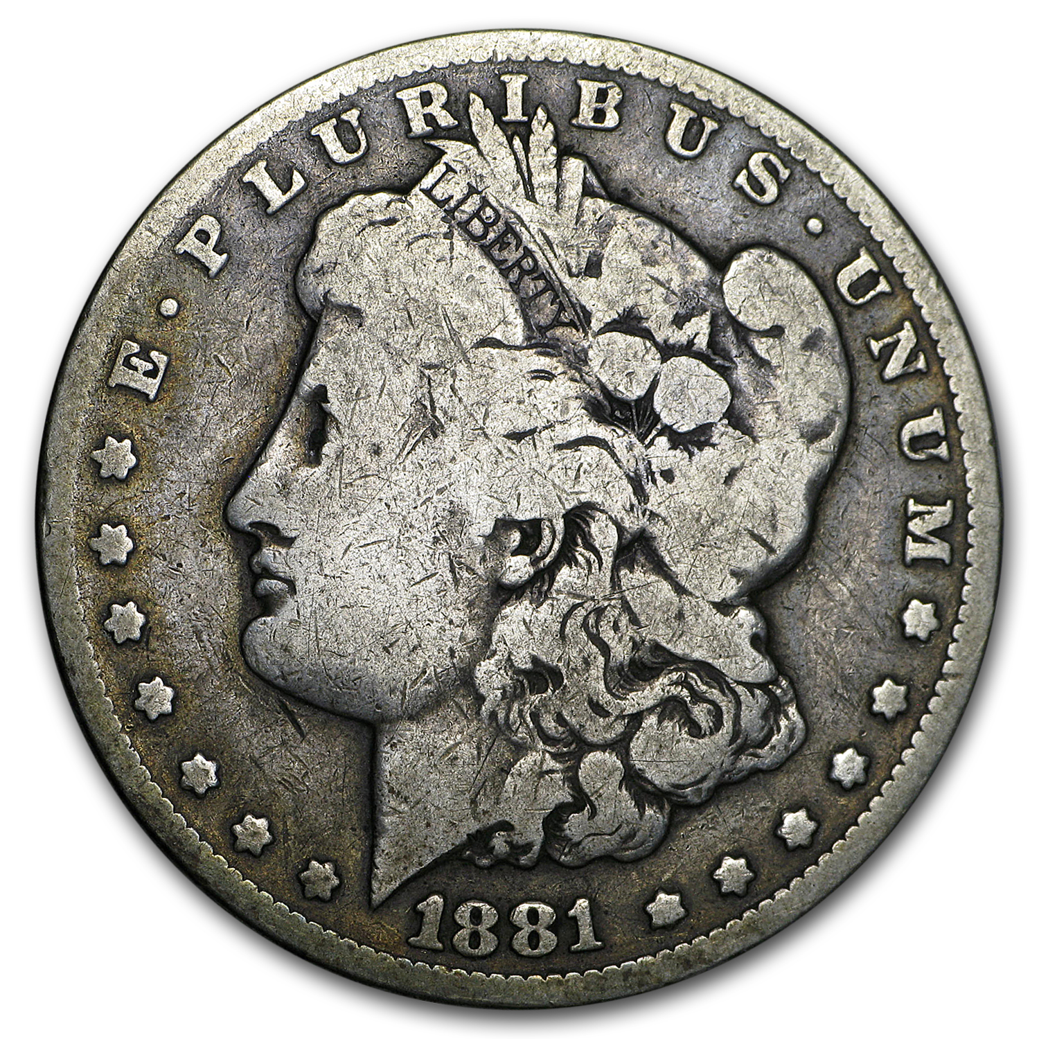 1881-CC Morgan Dollar Good