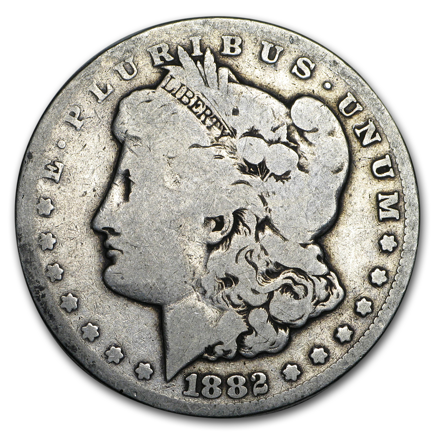 1882-CC Morgan Dollar Good