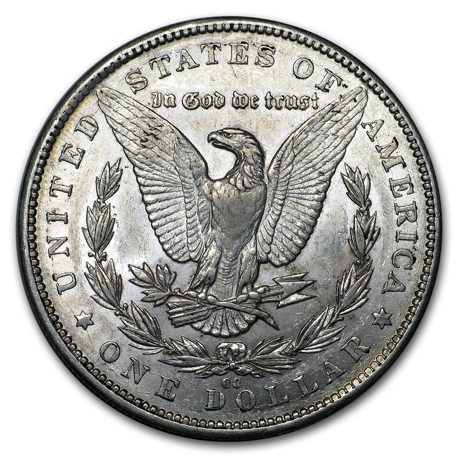 1884-CC Morgan Dollar - Almost Uncirculated