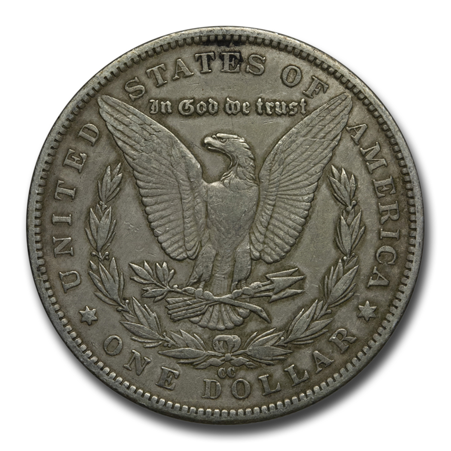 1885-CC Morgan Dollar VF