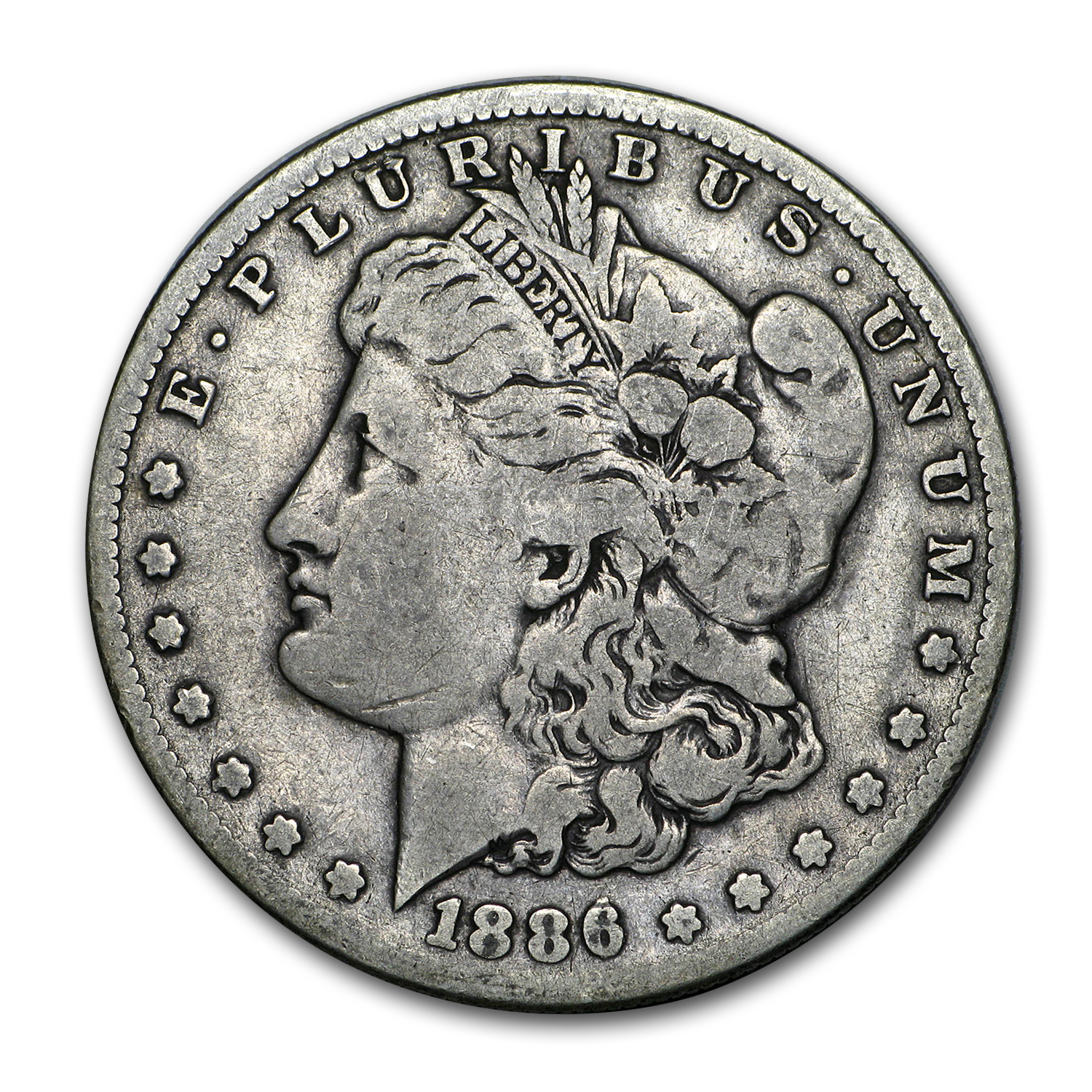 1886-S Morgan Dollar Fine