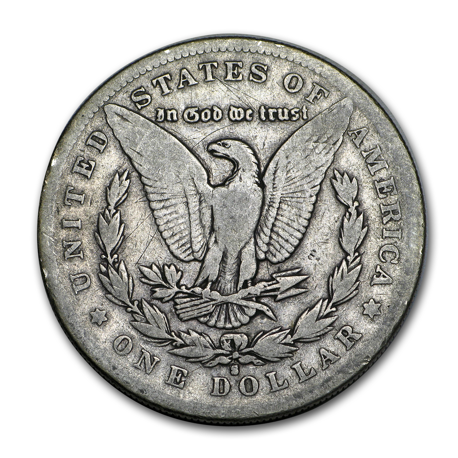 1886-S Morgan Dollar - Fine