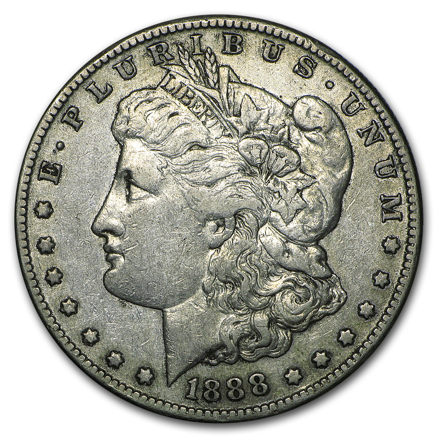 1888-S Morgan Dollar - Very Fine