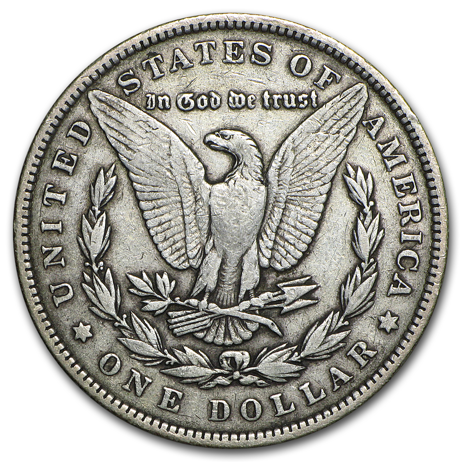 1893 Morgan Dollar - Fine