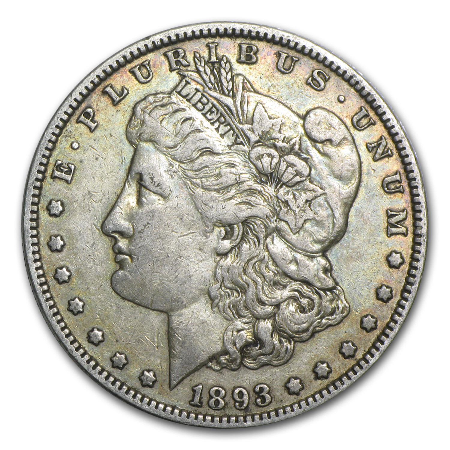 1893 Morgan Dollar Xf Morgan Dollars 1878 1904 Date