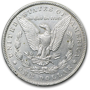 1893 Morgan Dollar AU-53