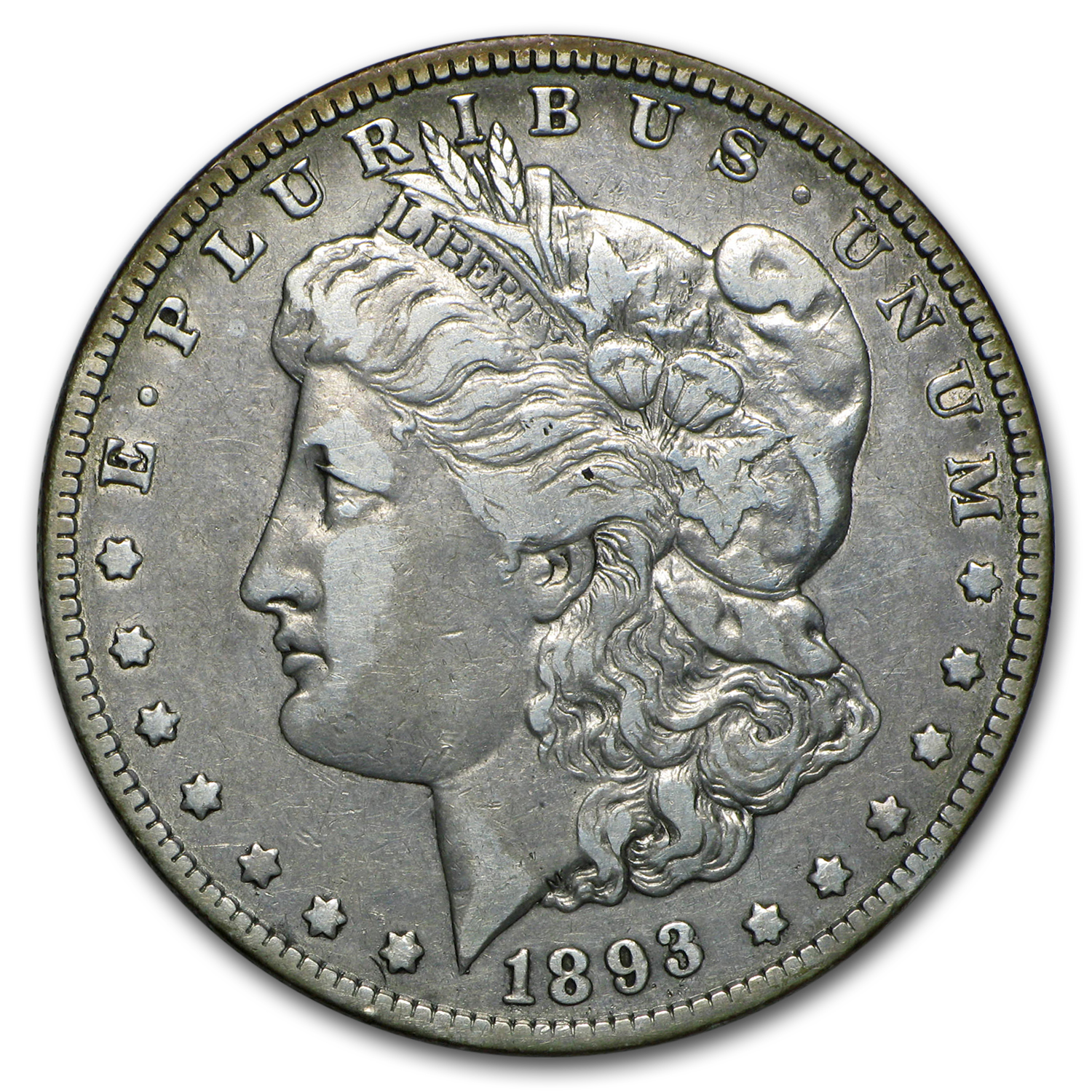 1893-O Morgan Dollar VF