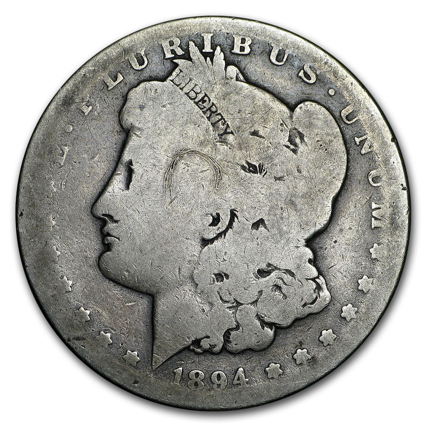 1894-S Morgan Dollar AG