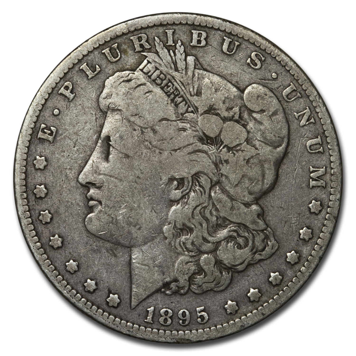1895-O Morgan Dollar Fine