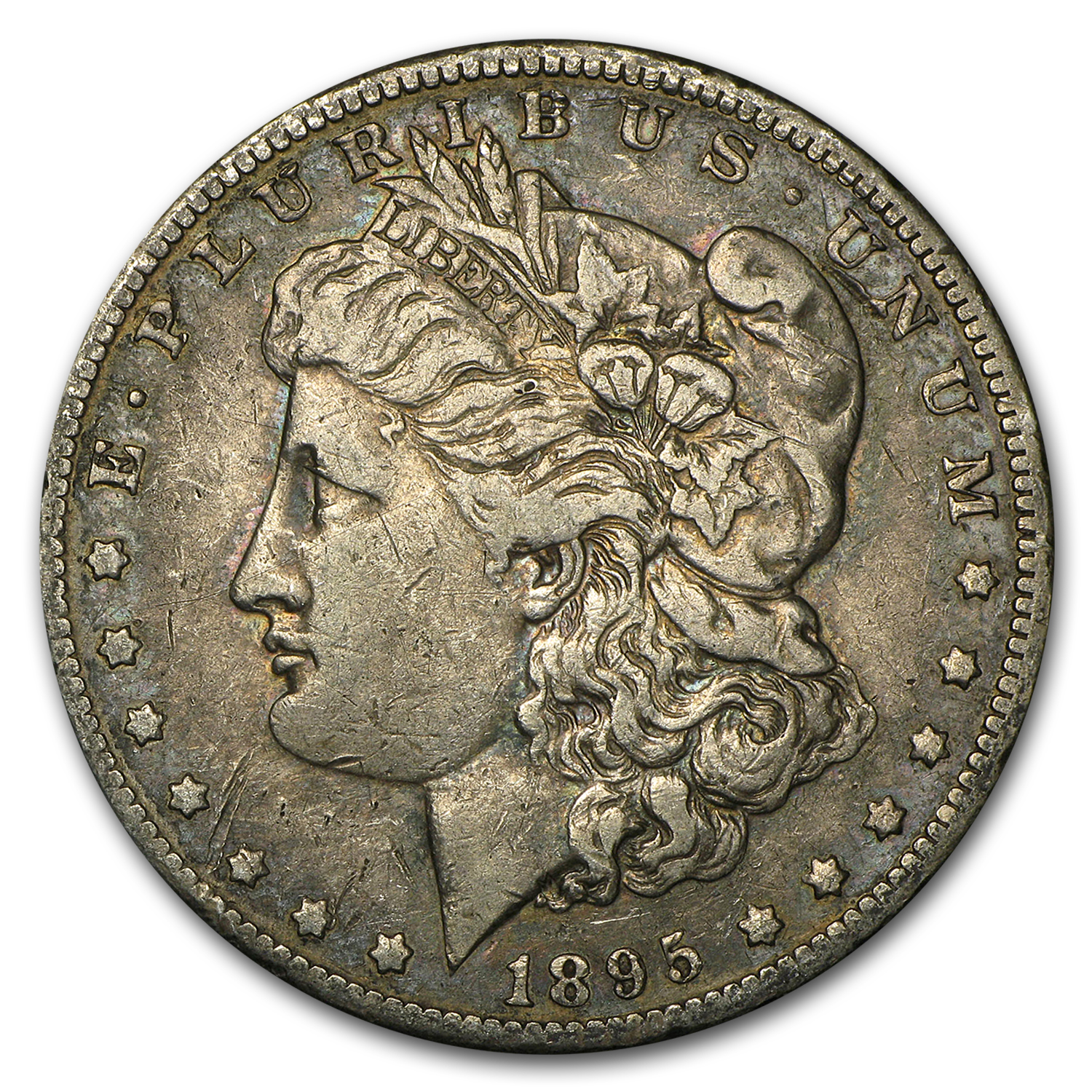 1895-O Morgan Dollar - Very Fine Details - Cleaned