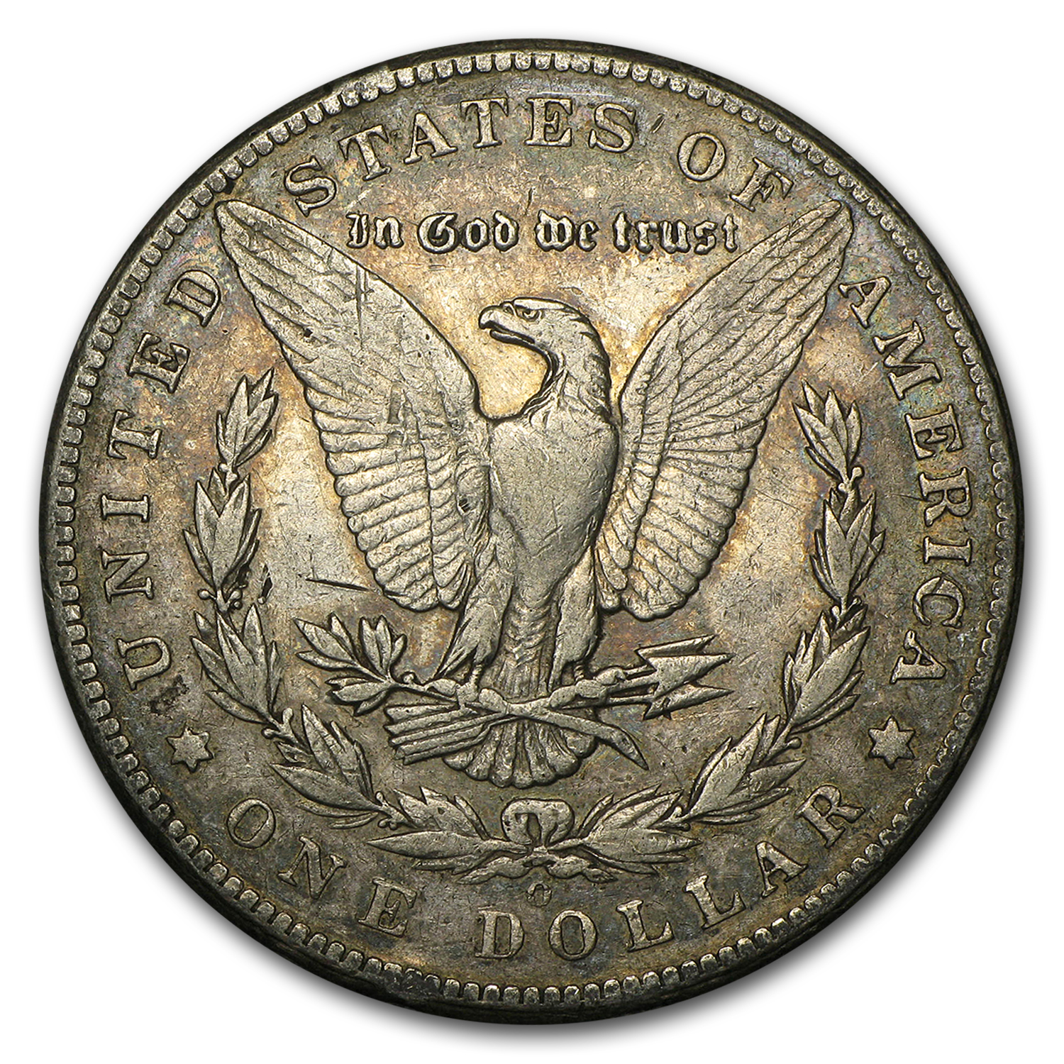 1895-O Morgan Dollar VF Details (Cleaned)