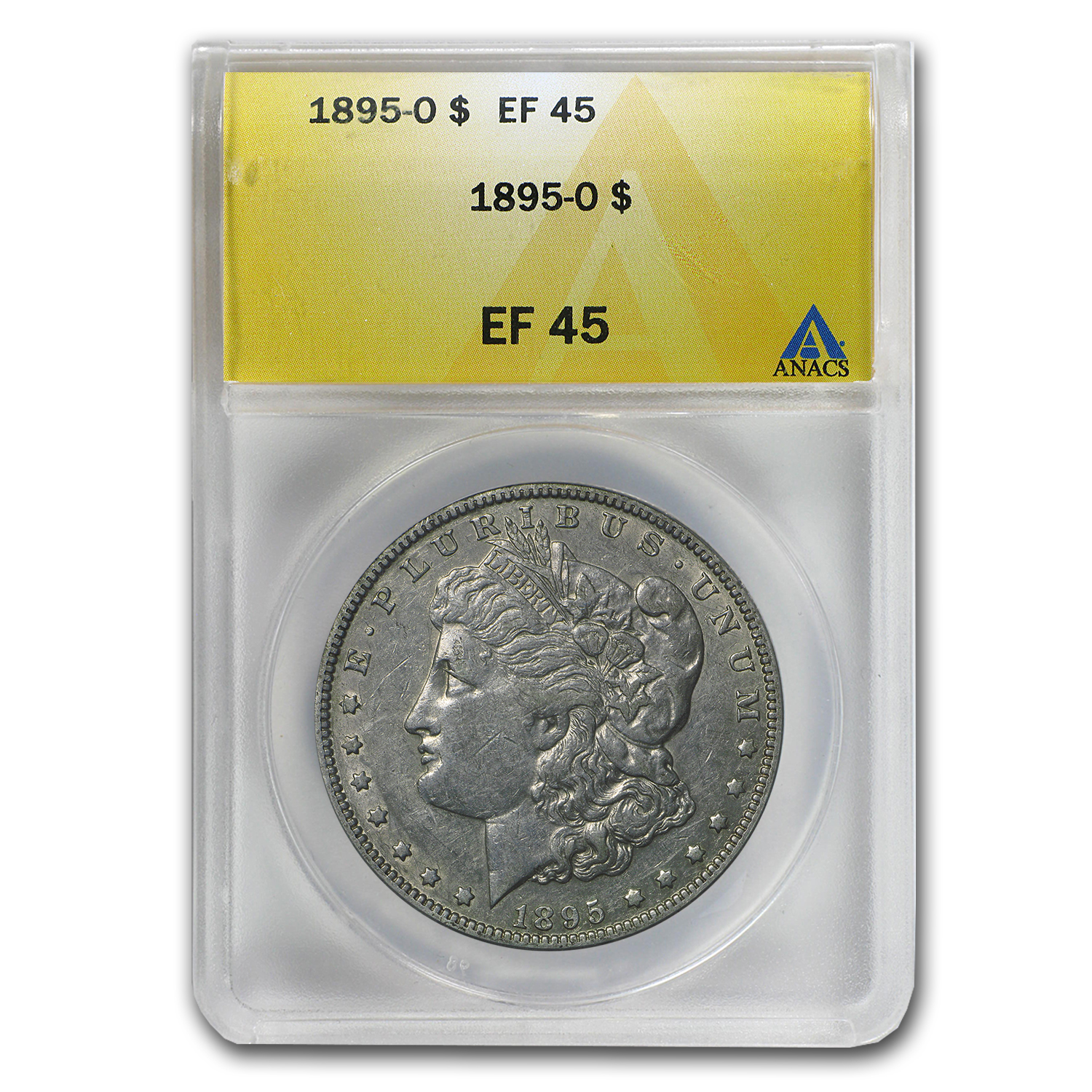 1895-O Morgan Dollar XF-45