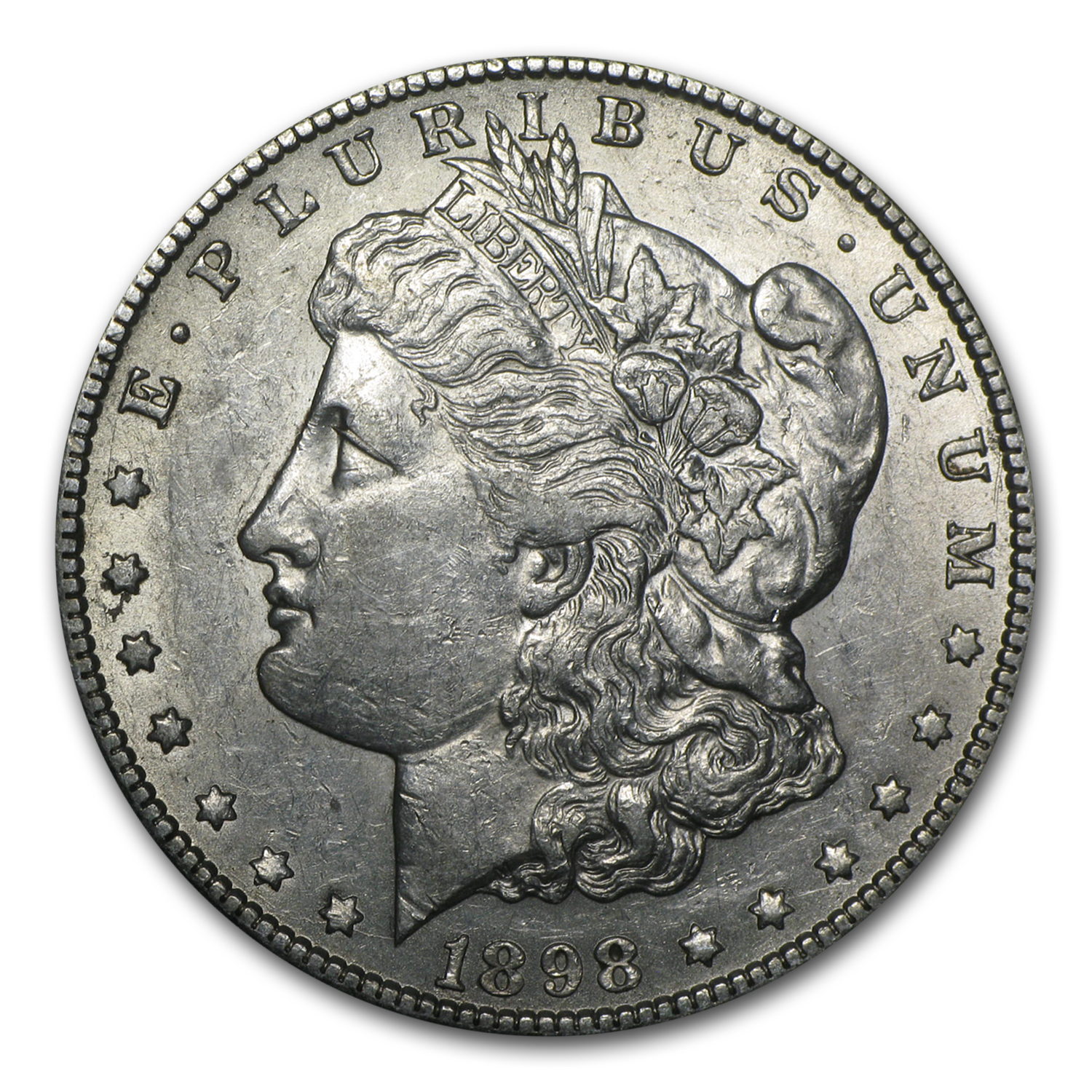 1898-S Morgan Dollar - Almost Uncirculated