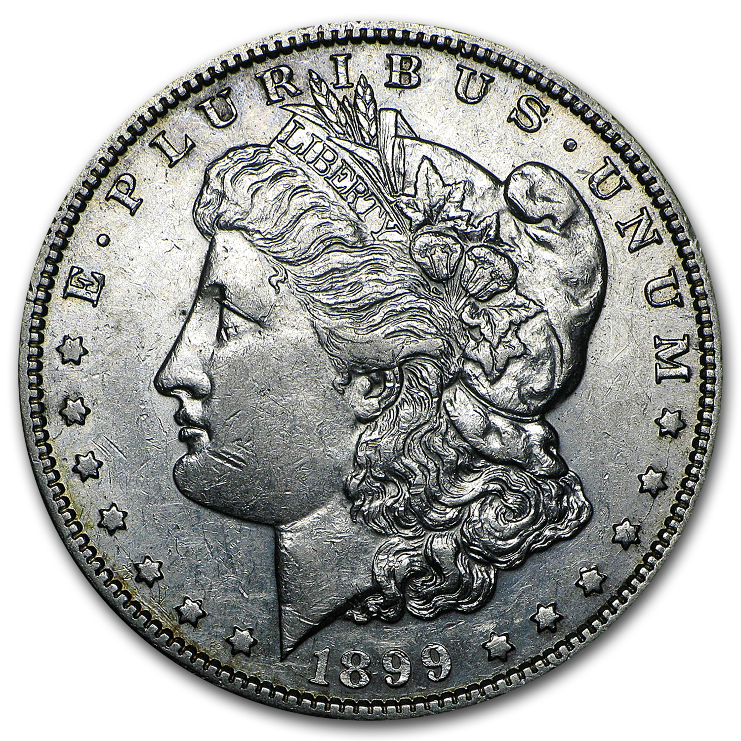 1899-S Morgan Dollar AU