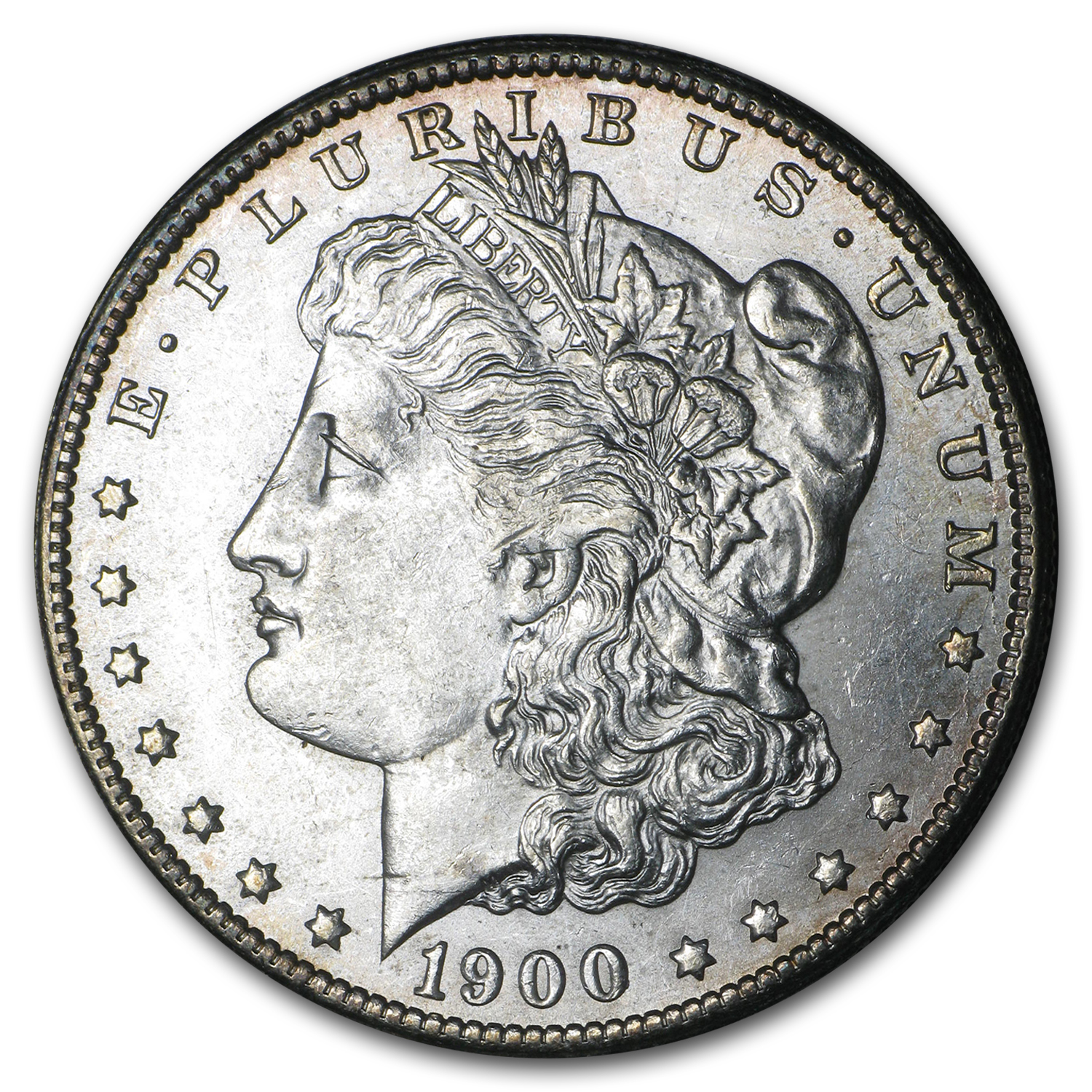1900-S Morgan Dollar AU-58
