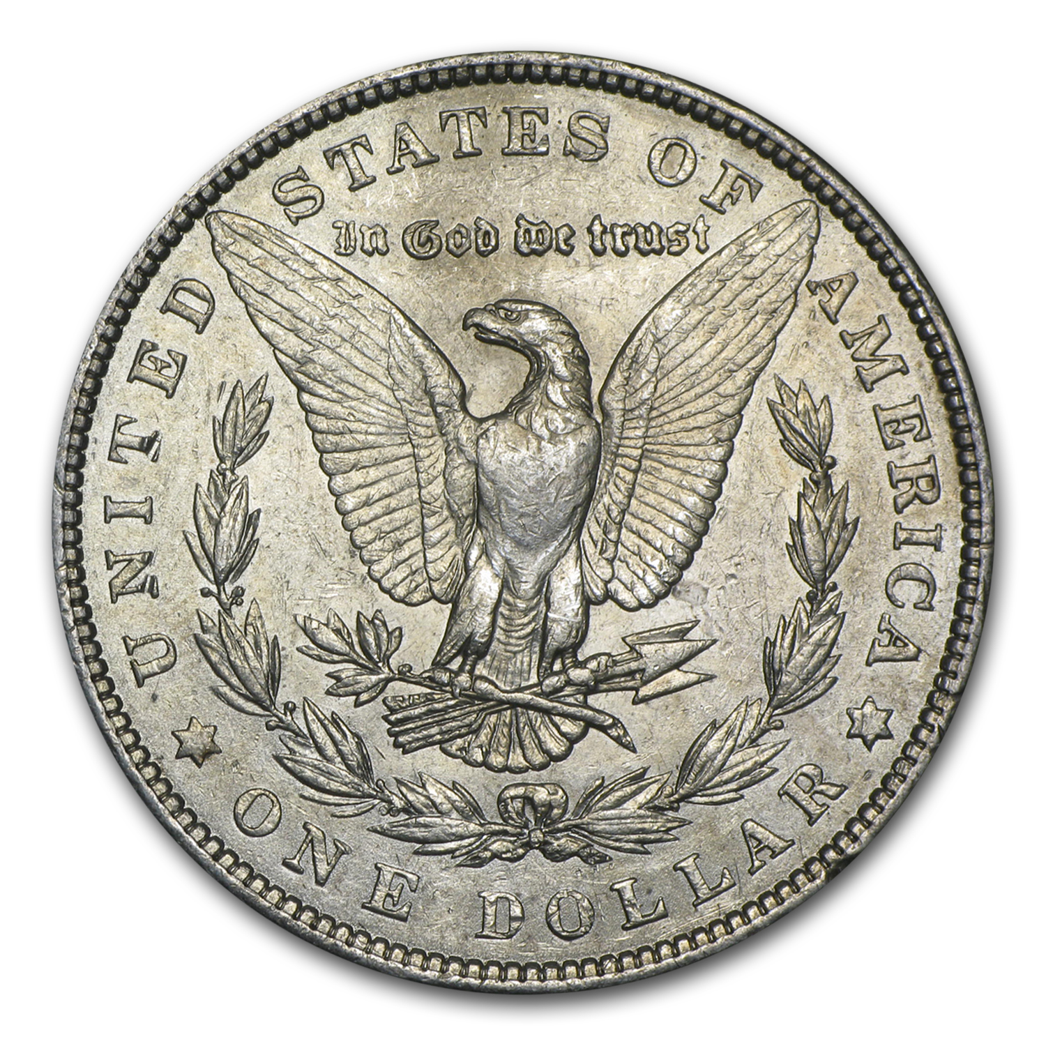 1901 Morgan Dollar - Almost Uncirculated