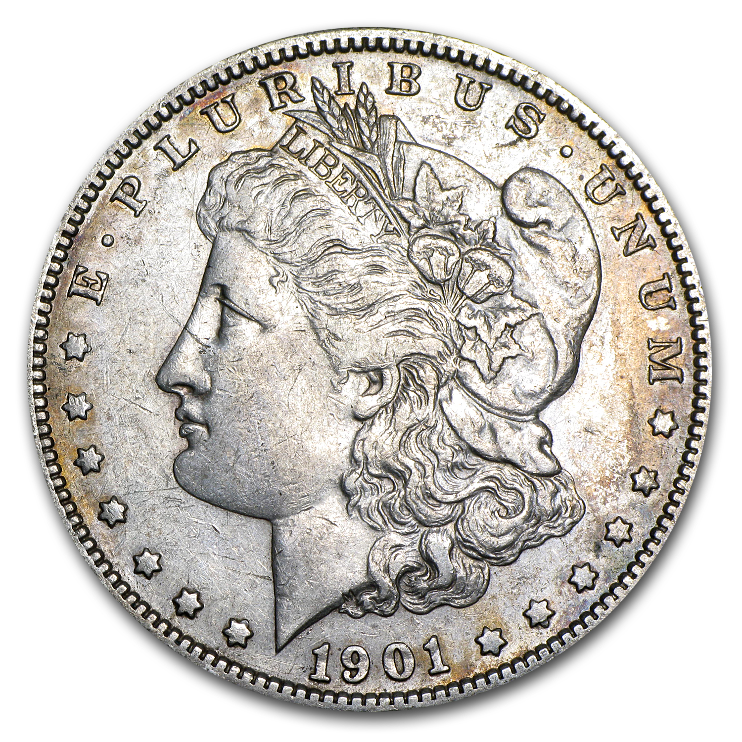 1901-S Morgan Dollar XF