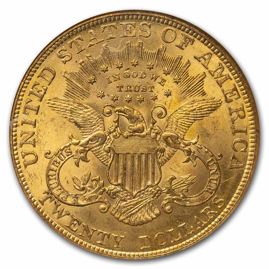 1904 $20 Liberty Gold Double Eagle MS-62 NGC