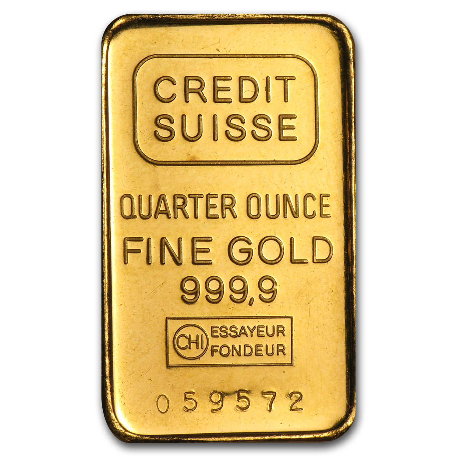 1/4 oz Gold Bars - Secondary Market