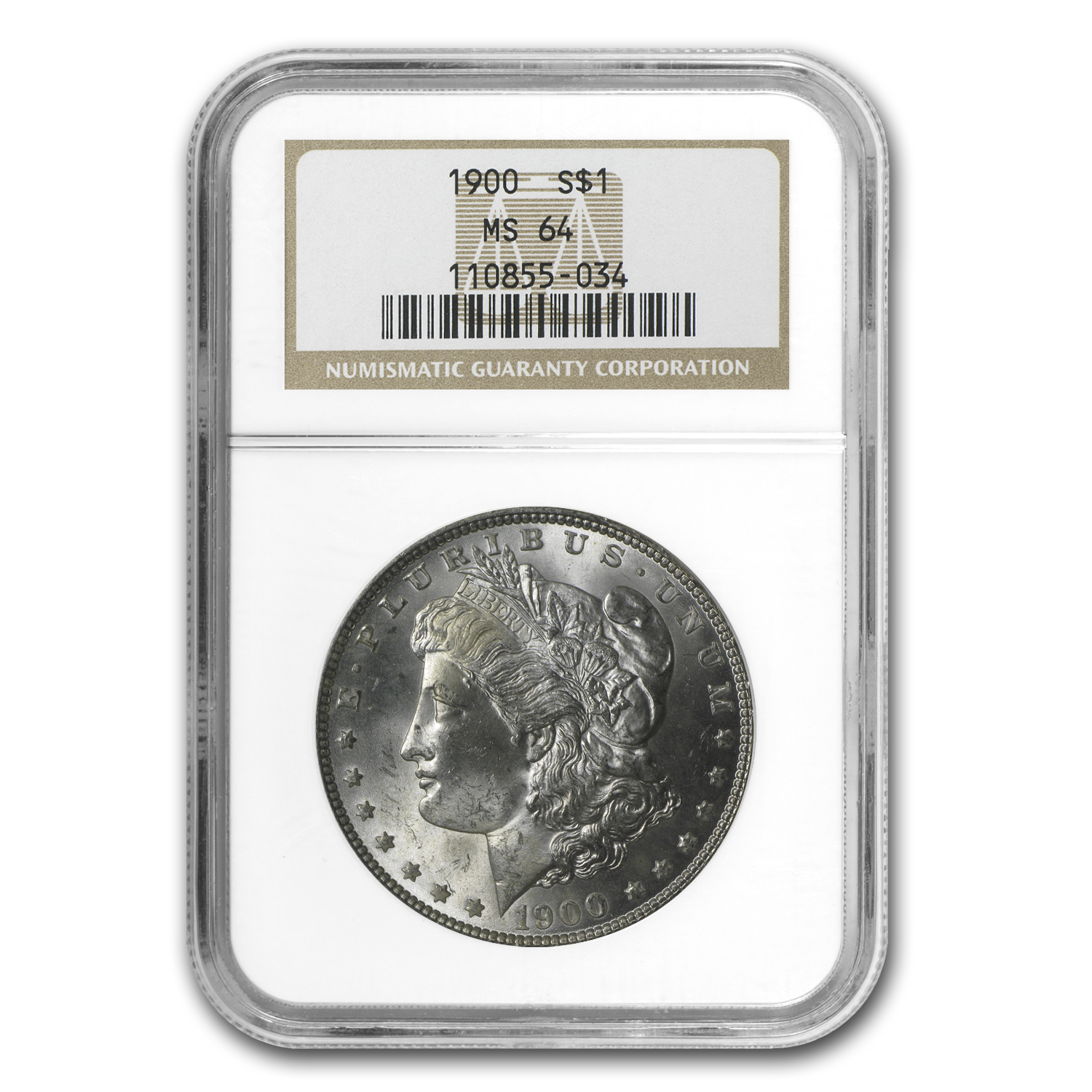1900 Morgan Dollar MS-64 NGC