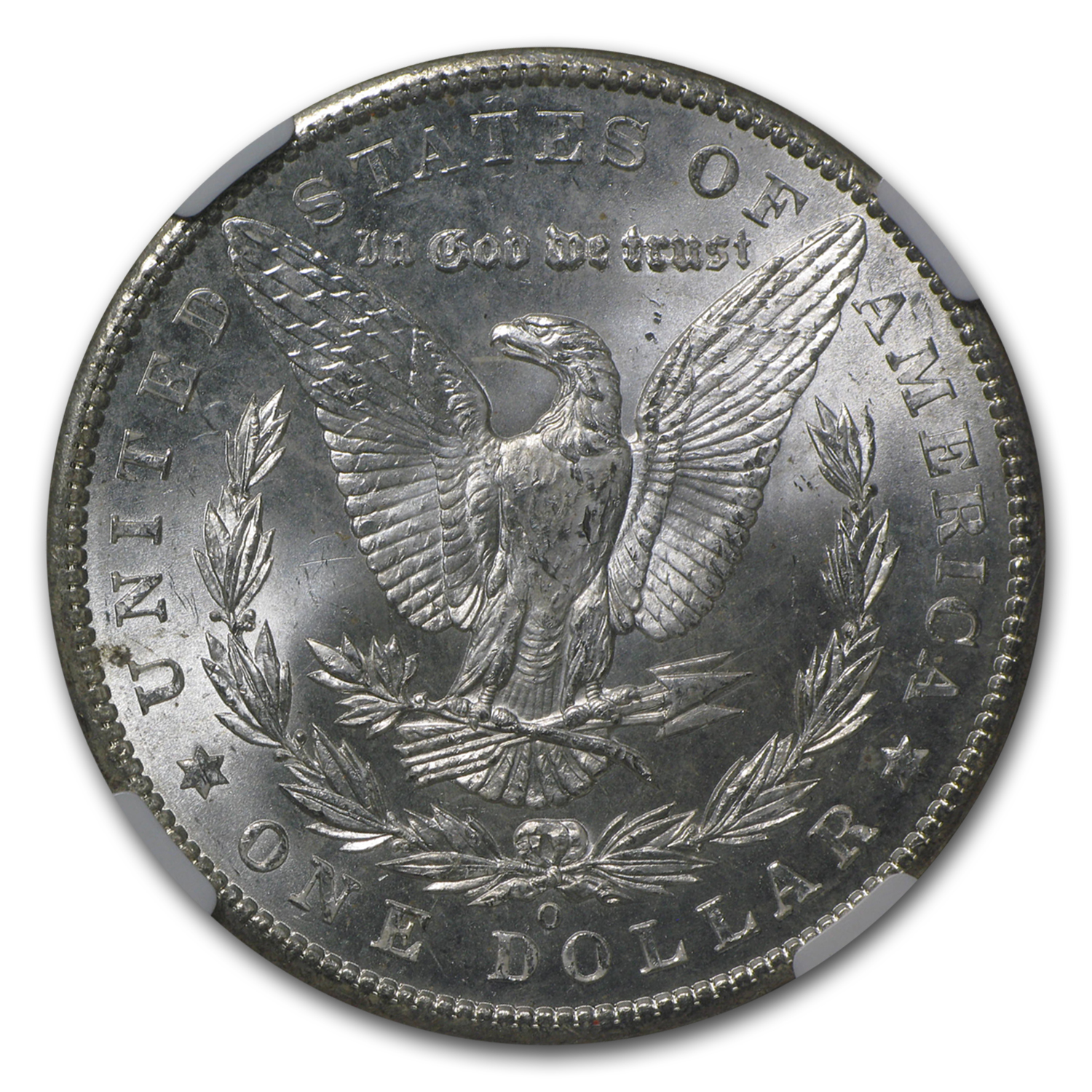 1902-O Morgan Dollar MS-64 NGC