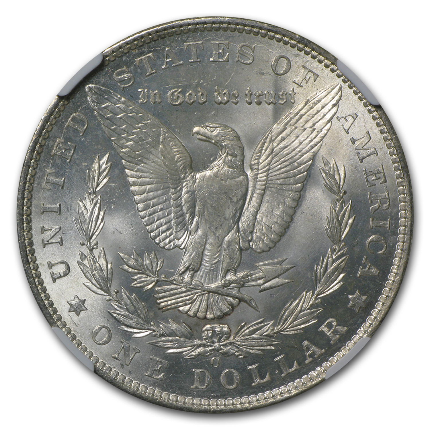 1904-O Morgan Dollar - MS-64 NGC