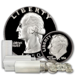 90% Silver $10 Face-Value Lot Proof