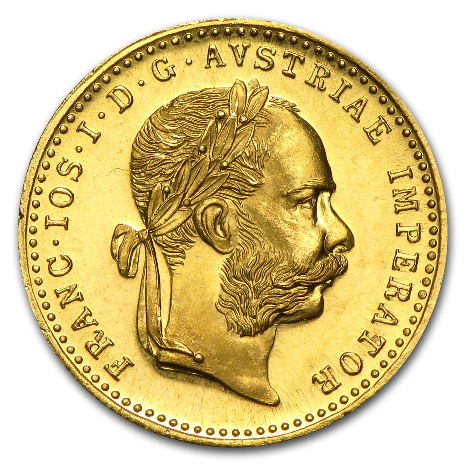 Austria Gold 1915 1 Ducat - Proof-like or Mint State AGW .1106