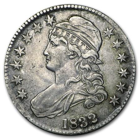 1832 Capped Bust Half Dollar Xf Early Half Dollars 1794